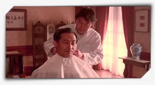 韓国映画「大統領の理髪師」画像